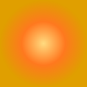 Orange-yellow radial gradient